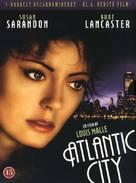 Atlantic City - Danish DVD movie cover (xs thumbnail)