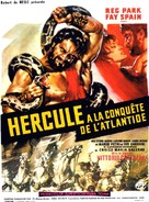 Ercole alla conquista di Atlantide - French Movie Poster (xs thumbnail)