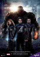 Fantastic Four - Turkish Movie Poster (xs thumbnail)