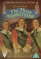 The Three Musketeers - British DVD cover (xs thumbnail)