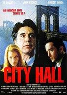 City Hall - German Movie Poster (xs thumbnail)