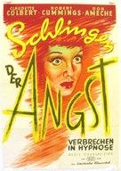 Sleep, My Love - German Movie Poster (xs thumbnail)