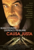 Just Cause - Spanish Movie Poster (xs thumbnail)