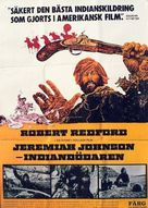 Jeremiah Johnson - Swedish Movie Poster (xs thumbnail)