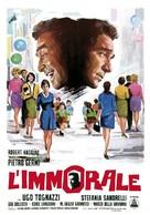 L'immorale - Italian Movie Poster (xs thumbnail)