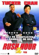 Rush Hour 2 - Danish Movie Cover (xs thumbnail)