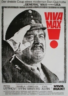 Viva Max - German Movie Poster (xs thumbnail)