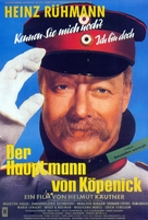 Hauptmann von Köpenick, Der - German Movie Poster (xs thumbnail)