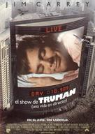 The Truman Show - Spanish Movie Poster (xs thumbnail)