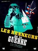 Honneurs de la guerre, Les - French Movie Poster (xs thumbnail)