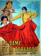 Bullfighter and the Lady - French Movie Poster (xs thumbnail)