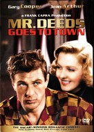 Mr. Deeds Goes to Town - DVD movie cover (xs thumbnail)