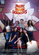 Angry Indian Goddesses - Indian Movie Poster (xs thumbnail)