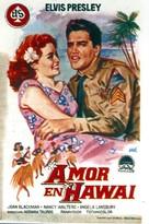 Blue Hawaii - Spanish Movie Poster (xs thumbnail)