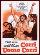 Corri uomo corri - Italian Movie Poster (xs thumbnail)