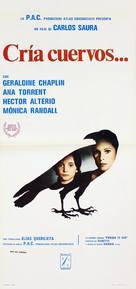 Cría cuervos - Italian Movie Poster (xs thumbnail)