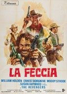 The Revengers - Italian Movie Poster (xs thumbnail)