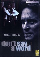 Don't Say A Word - Italian Movie Cover (xs thumbnail)