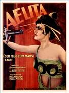 Aelita - German Movie Poster (xs thumbnail)