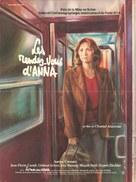 Les rendez-vous d'Anna - French Movie Poster (xs thumbnail)