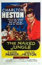 The Naked Jungle - Re-release movie poster (xs thumbnail)