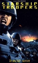 Starship Troopers - French Movie Cover (xs thumbnail)