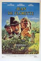 Jean de Florette - Swedish Movie Poster (xs thumbnail)
