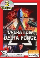 Operation Delta Force 3: Clear Target - French DVD cover (xs thumbnail)