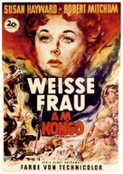 White Witch Doctor - German Movie Poster (xs thumbnail)