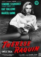 Thèrése Raquin - French Movie Poster (xs thumbnail)