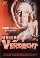 The Suspect - German Movie Poster (xs thumbnail)