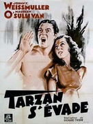 Tarzan Escapes - French Movie Poster (xs thumbnail)