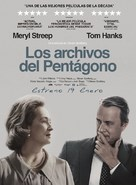 The Post - Spanish Movie Poster (xs thumbnail)