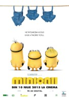 Minions - Romanian Movie Poster (xs thumbnail)