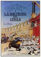 Astérix et la surprise de César - Spanish Movie Poster (xs thumbnail)