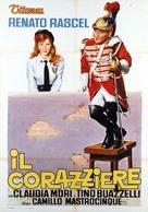 Il corazziere - Italian Movie Poster (xs thumbnail)