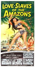 Love Slaves of the Amazons - Movie Poster (xs thumbnail)
