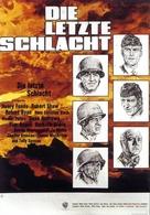 Battle of the Bulge - German Movie Poster (xs thumbnail)