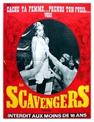 The Scavengers - French Movie Poster (xs thumbnail)