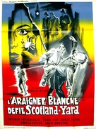 Die weisse Spinne - French Movie Poster (xs thumbnail)