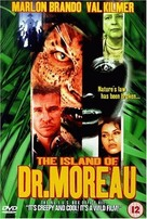 The Island of Dr. Moreau - British DVD cover (xs thumbnail)
