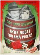 Hoppla, jetzt kommt Eddie - Danish Movie Poster (xs thumbnail)