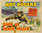 Saga of Death Valley - Movie Poster (xs thumbnail)