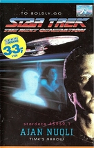"""Star Trek: The Next Generation"" - Finnish VHS movie cover (xs thumbnail)"