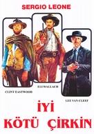 Il buono, il brutto, il cattivo - Turkish Movie Poster (xs thumbnail)
