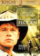 A River Runs Through It - Danish DVD cover (xs thumbnail)