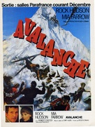 Avalanche - French Movie Poster (xs thumbnail)