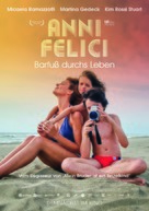 Anni felici - German Movie Poster (xs thumbnail)