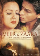 Veer-Zaara - German Movie Poster (xs thumbnail)