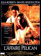 The Pelican Brief - French Movie Poster (xs thumbnail)